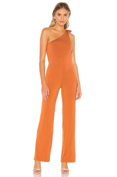 Privacy Please Richelle Jumpsuit in orange