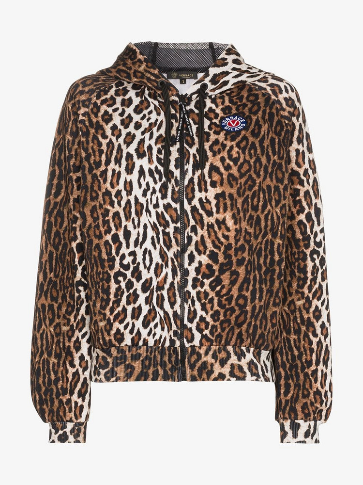 Versace VERS LS TOP HDY W ANML PRNT in brown