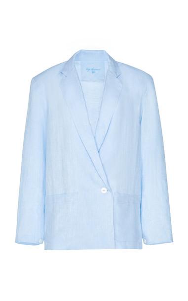 Loup Charmant Saint-Denis Linen Blazer Size: XS