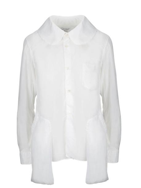Comme Des Garçons Classic Shirt in white