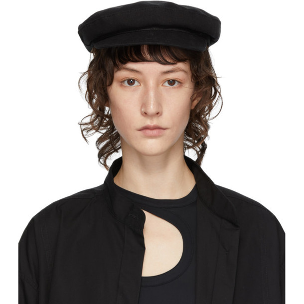 Ann Demeulemeester Black Fisherman Hat