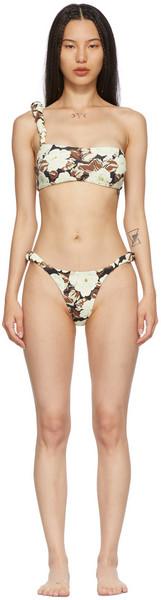 SIR. SIR. Beige & Brown Carlo Bikini