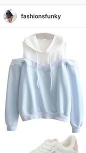 sweater,blue,white,jumper