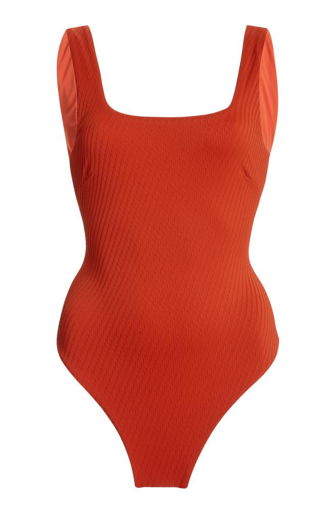 Fella Harvey Specter Swimsuit in red