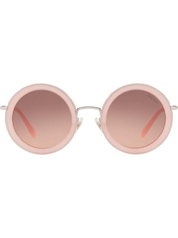 Miu Miu Eyewear Délice sunglasses in pink
