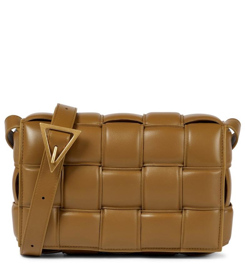 Bottega Veneta Padded Cassette leather shoulder bag in brown