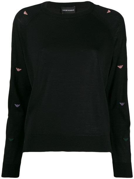 Emporio Armani Sweater in nero