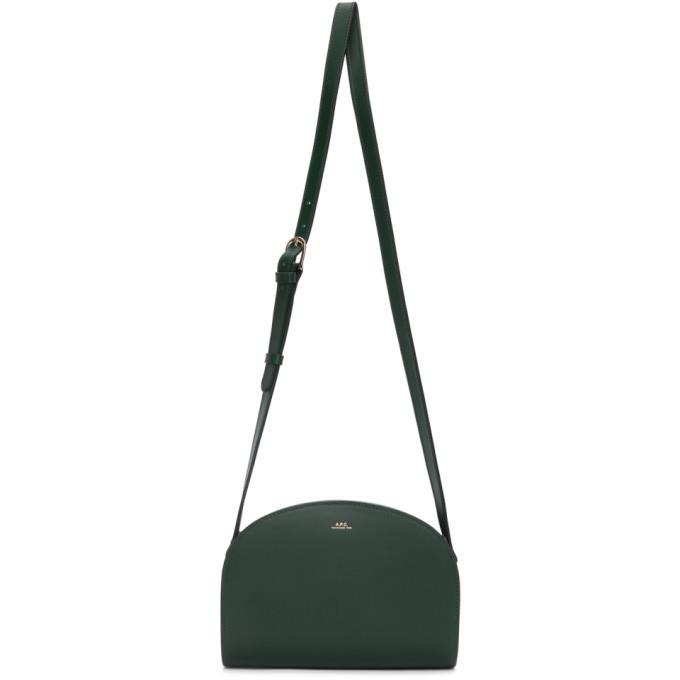 A.P.C. A.P.C. Green Demi-Lune Bag