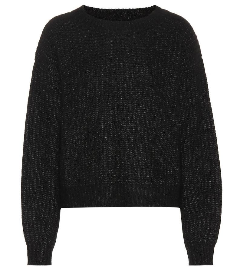 Ryan Roche Cashmere and silk sweater in black