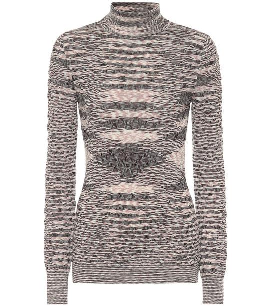 Missoni Wool turtleneck sweater in black