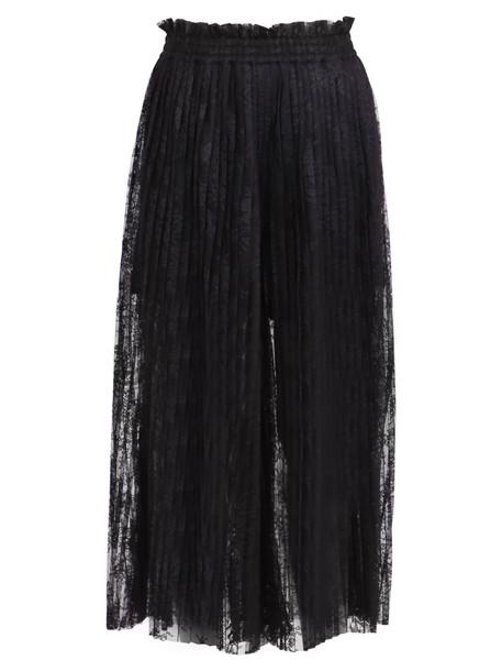 MM6 Maison Margiela Sheer Skirt in black