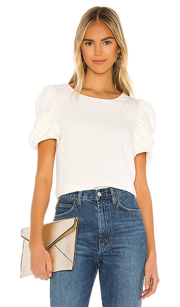 Amanda Uprichard Merris Top in White