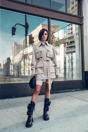 vivaluxury - fashion blog by annabelle fleur: nyfw mini moment,blogger,jacket,shorts