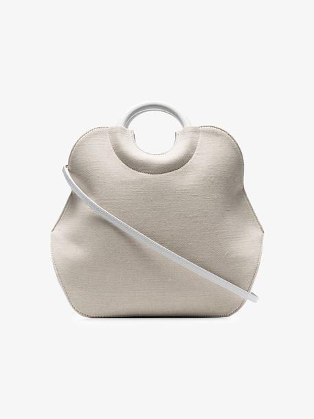 Complet cream Neomi mini canvas tote bag
