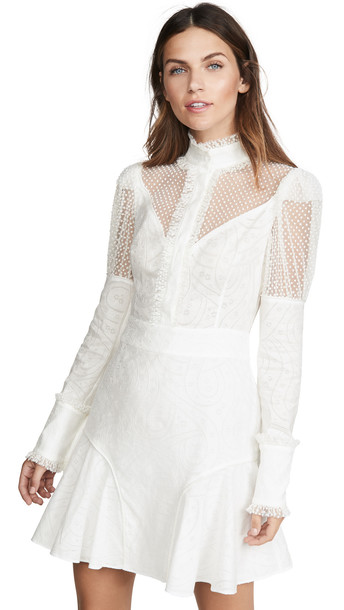 Alexis Madilyn Dress in white