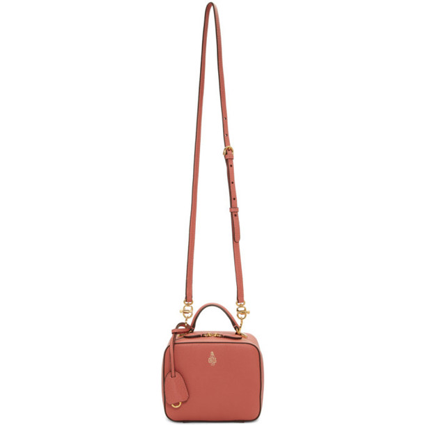 Mark Cross Pink Baby Tumbled Laura Bag