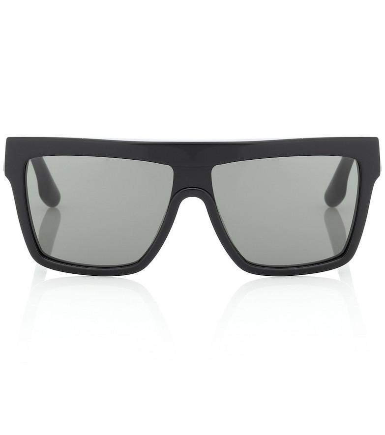 Victoria Beckham Flat Top Visor sunglasses in black