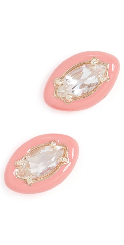 Bea Bongiasca Sweetness Earrings in coral / pink