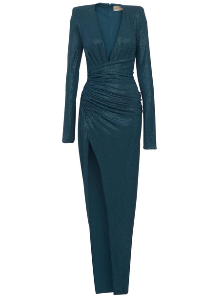 Dress Alexandre Vauthier in blue