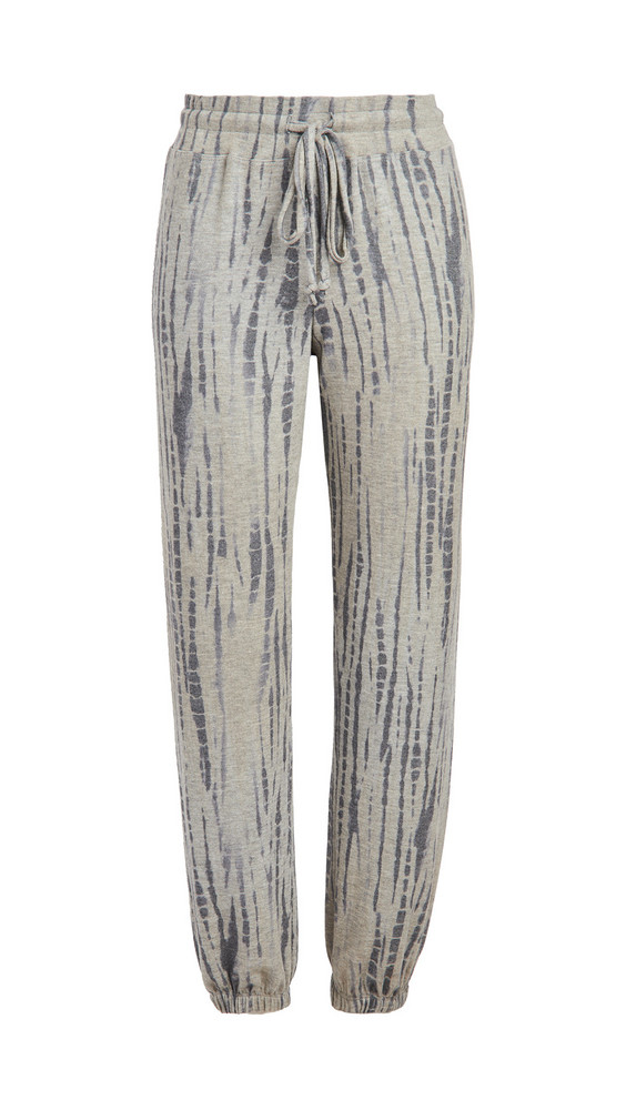 SUNDRY Shibori Sweatpants in grey