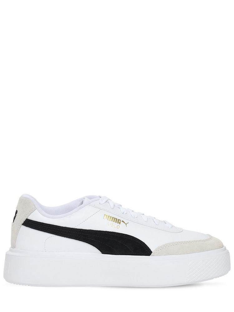 PUMA Oslo Femme Archive Sneakers in black / white