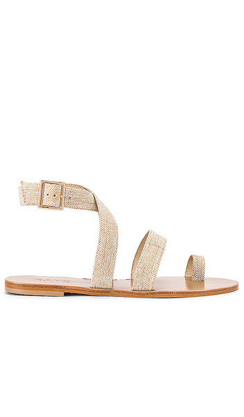 RAYE Tex Sandal in Biege in natural