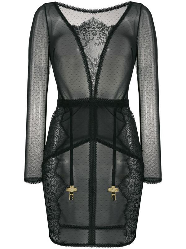 Maison Close Inspiration Divine dress in black