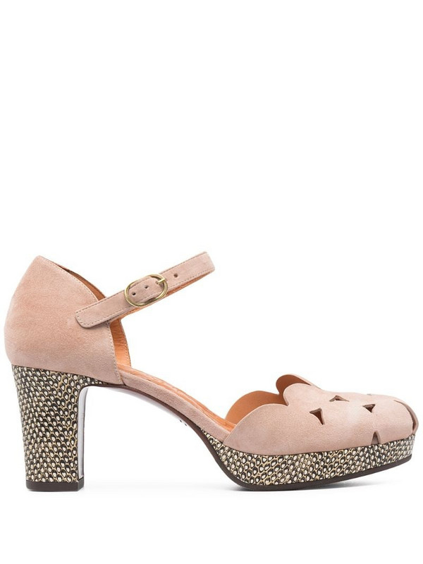Chie Mihara Macel cut-out sandals in neutrals