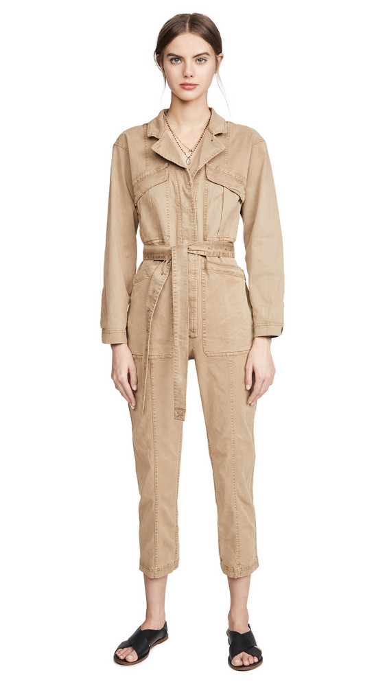 Alex Mill Expedition Jumpsuit in khaki