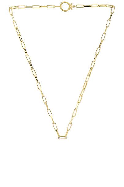gorjana Parker Necklace in gold / metallic