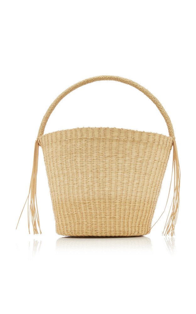 Sensi Studio Salinas Straw Handbag in brown
