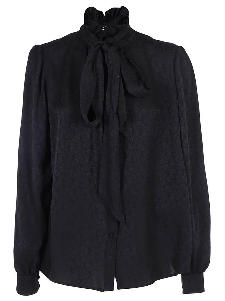 Saint Laurent Shirt in noir