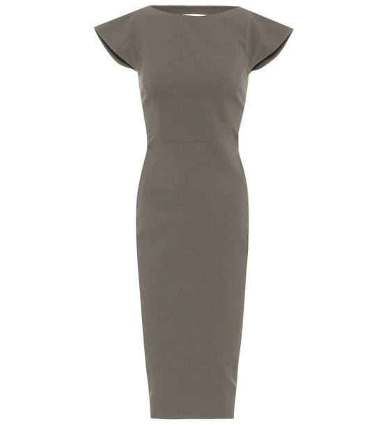 Rick Owens Stretch-twill dress in grey