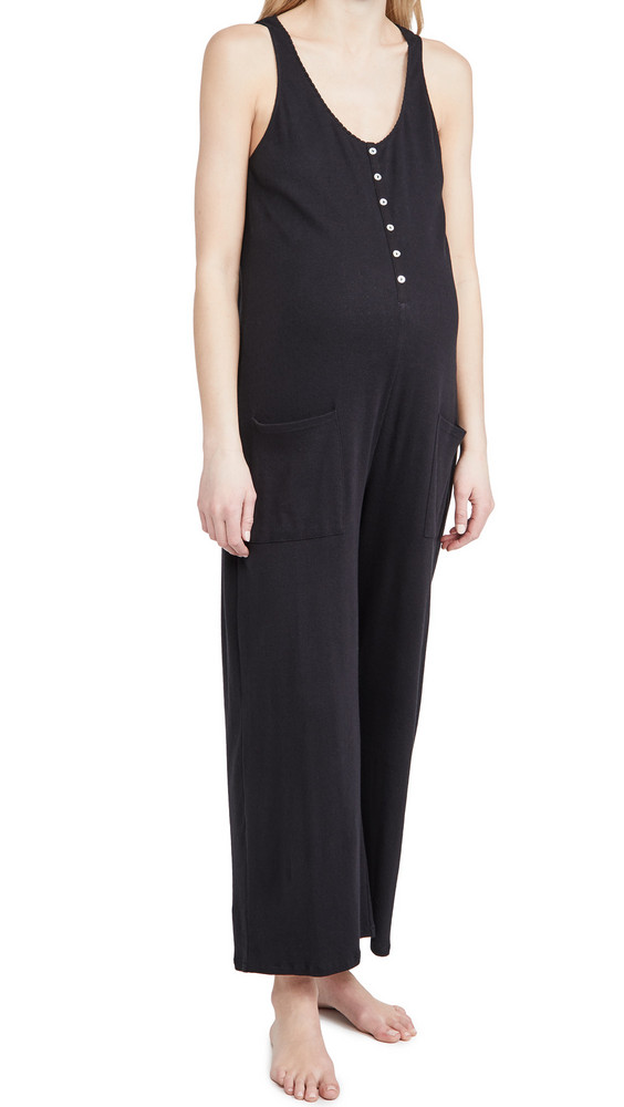 HATCH The 24/7 Feeding Jumpsuit in black
