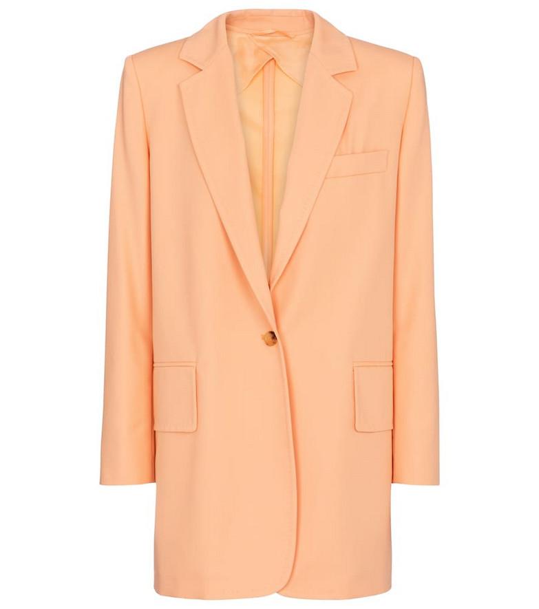 Max Mara Marsala cotton and gabardine blazer in pink