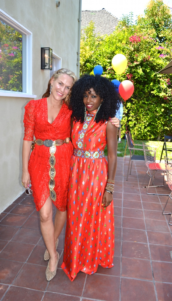 Style Pantry   Red Chinese Maxi Dress   Fundraiser Soiree