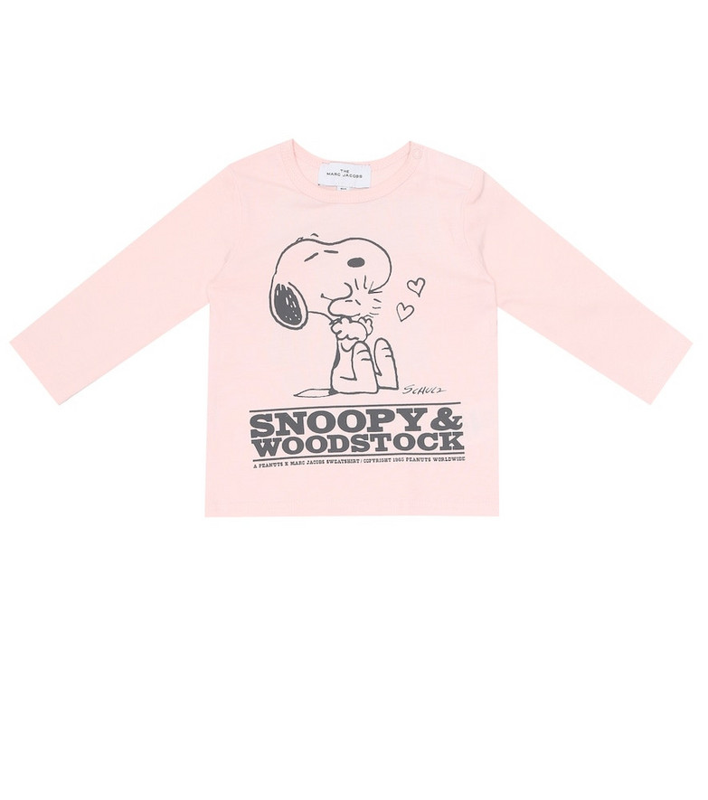 Little Marc Jacobs x Peanuts® Baby cotton top in pink