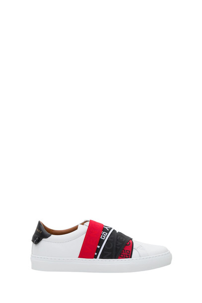 Givenchy Webbing Low Sneakers in bianco