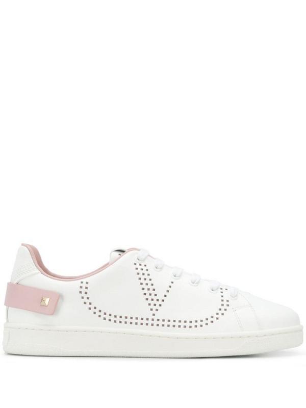Valentino Garavani Backnet sneakers in white