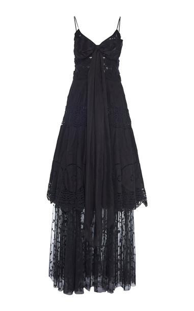 nevenka Rose Noir Dress Size: 6 in black