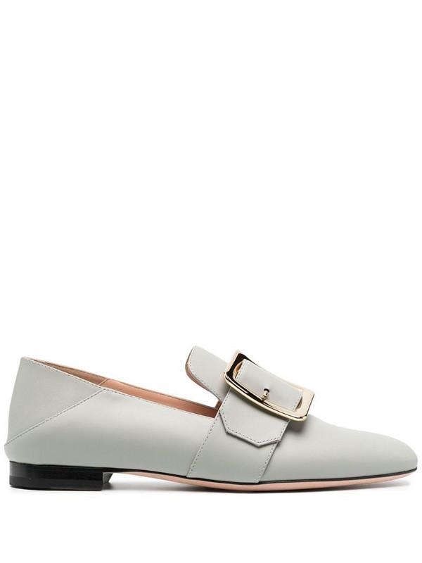 Bally folded heel loafers in grey