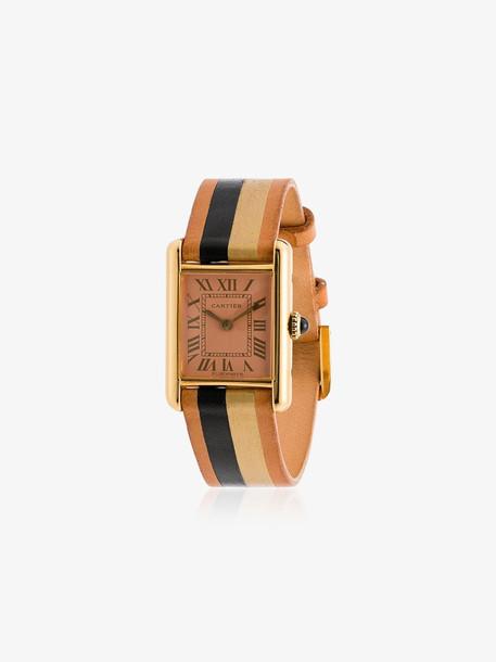 La Californienne Peach Dial 18K Gold Cartier Watch