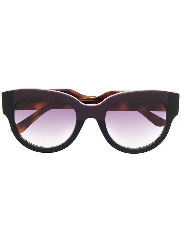 Marni Eyewear wayfarer-frame tortoiseshell sunglasses in brown