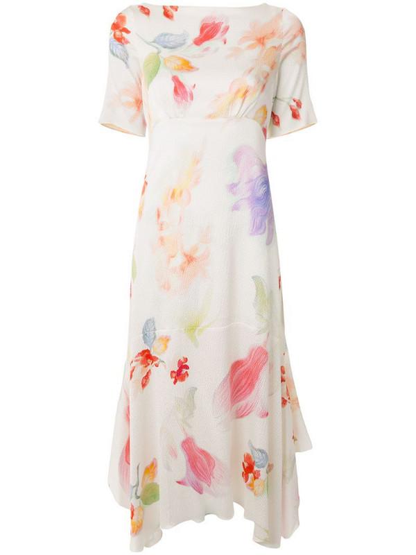 Peter Pilotto floral print handkerchief dress