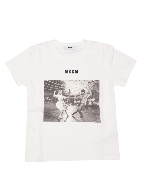 MSGM Photographic Print Short Sleeve T-shirt