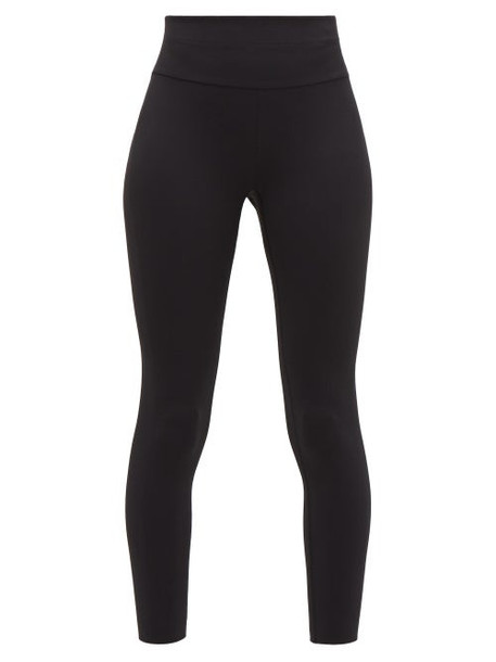 Vaara - Millie High-rise Leggings - Womens - Black White