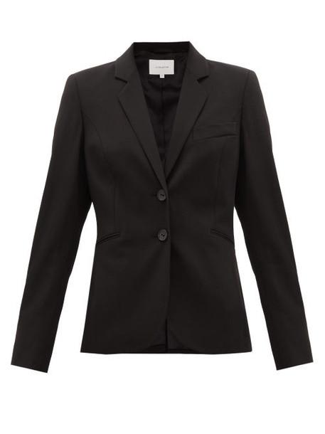 La Collection - Julie Single-breasted Wool-blend Suit Jacket - Womens - Black