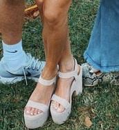 shoes,nude heels