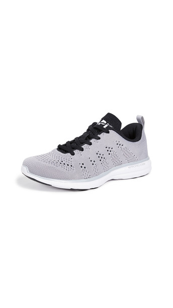 APL: Athletic Propulsion Labs TechLoom Pro Sneakers in black / white