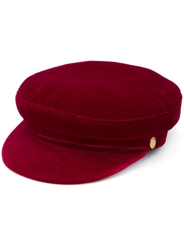 Manokhi x Toukitsou Greek Fisherman hat in red